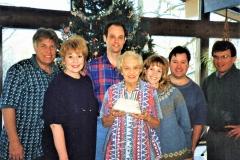 Marion Zaun, Bob's mom's 90th birthday. 1997
